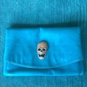Handbags - Skull fashion clutch